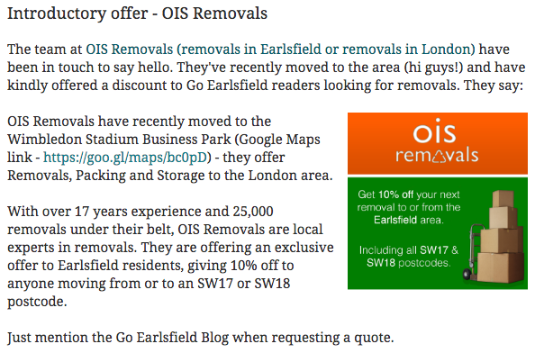 local removal company in earlsfield