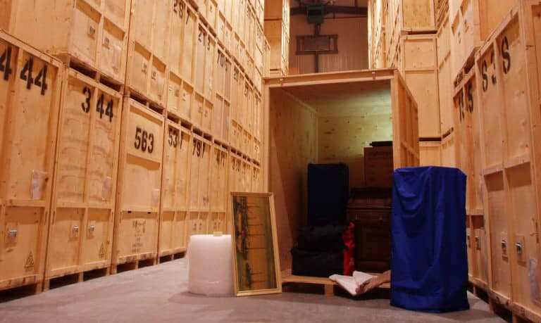 storage facilities in london
