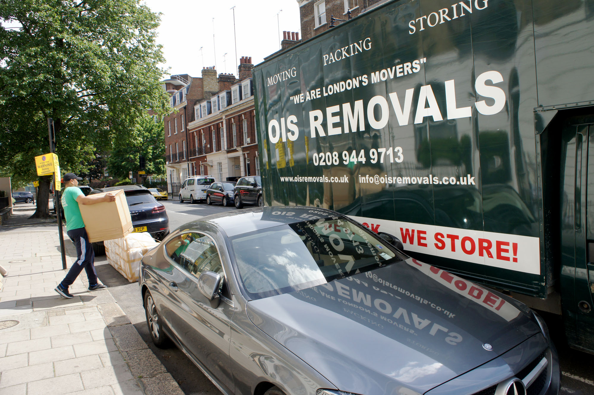 van and man removal service london